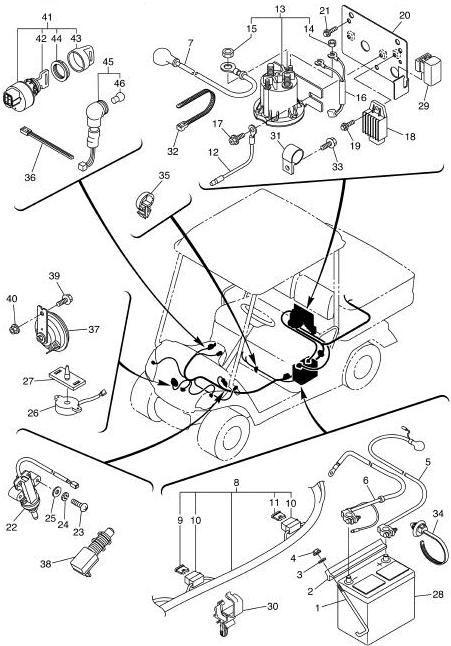 Yamaha J 31 Gas Golf Cart Wiring Diagram