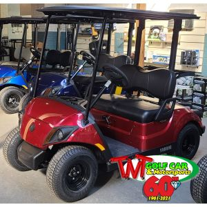 Jasper 2021 Yamaha Drive2 QuieTech PTV EFI Gas Golf Car with Black Seats