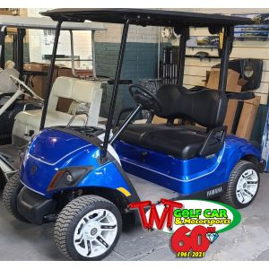 Beautiful Custom 2021 Yamaha Drive2 Fleet EFI Gas Golf Car