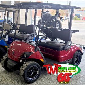 New Jasper 2021 Yamaha Drive² QuieTech PTV EFI Gas Golf Car with IRS