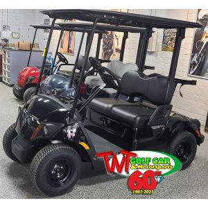 New Onyx 2021 Yamaha Drive² QuieTech PTV EFI Gas Golf Car with IRS and Illuminated Yamaha Logo