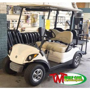 Upgraded Used 2015 Yamaha Drive Gas Golf Car