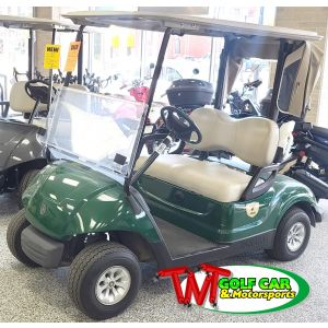 Used Green 2013 Yamaha Drive DC Electric Golf Car with New Batteries