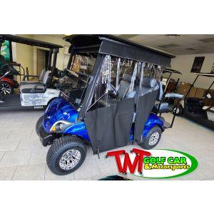 Blue 2021 Punishment Yamaha Drive2 Gas Golf Car