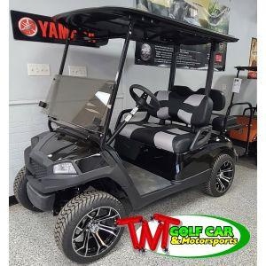 2014 Havoc Custom Black and Gray Yamaha Golf Car