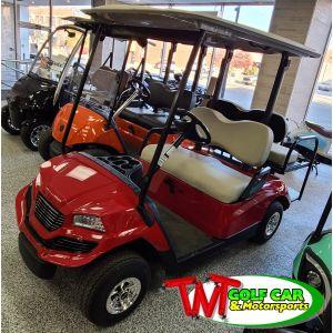 2014 Red Custom Havoc Yamaha Golf Car