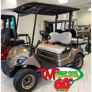 Mica Metallic 2021 Yamaha Drive2 Fleet EFI Golf Car J0K-203136