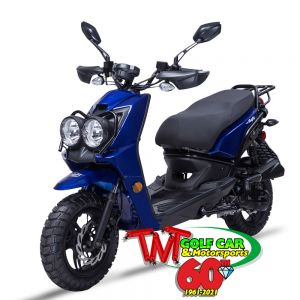 2021 Wolf Rugby Scooter 50cc