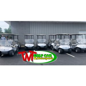 2015 Yamaha Carbureted Gas golf cars in Moonstone
