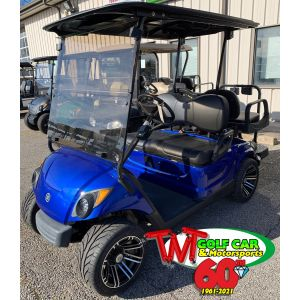 Royal Blue Gas 2016 Yamaha Drive2 Golf Car