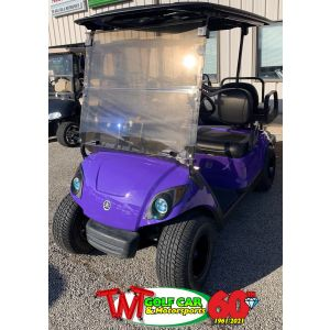 Deep Purple Gas 2015 Yamaha Drive2 Golf Car