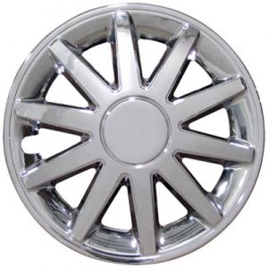 10 Spoke Wheel Cover-Silver