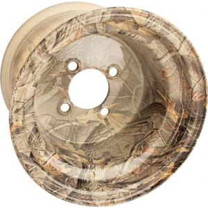 10x8 Camo Wheel Cover-Hardwoods Brown