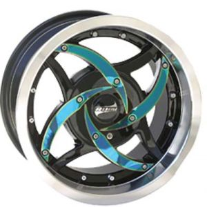 12x7 Rush Offset-Blue Blade/Black