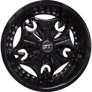 12x6 Mogul-Painted Black