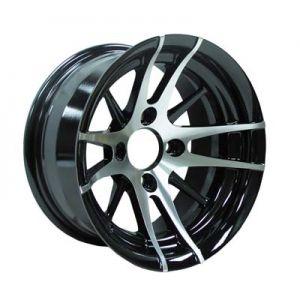 12x6 Venom-Machined W/Black