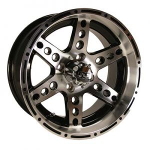 14x7 Dominator-Machined W/Black