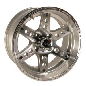 14x7 Dominator-Machined W/Silver