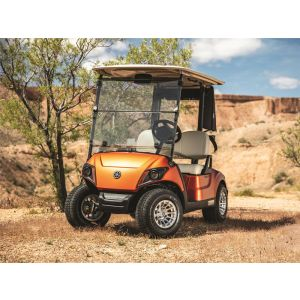 New 2021 Yamaha Drive2 Quietech PTV EFI Gas Golf Car
