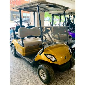 2013 Yamaha YDRE Gold Prism Electric Golf Car