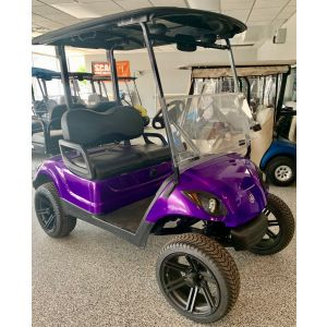 2016 Yamaha Drive 48V AC Custom Lifted Golf Car Purple