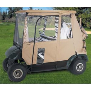 3 Sided Enclosure-Tan-Club Car