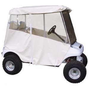 3 Sided Enclosure-Off White-For Club Car DS 20