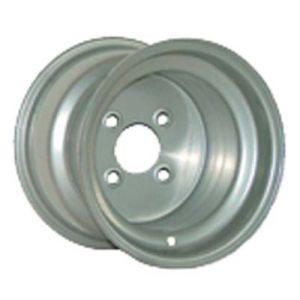 8x7 Steel-Silver, 2+5 Offset