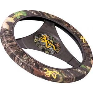 Camo Steering Wheel Cover-Browning Break-Up