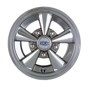 "10"" Cragar SS 5-Spoke Wheel Cover-Chrome / DISCONTINUED"