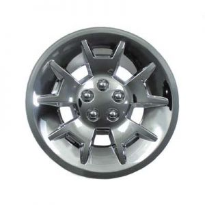 Demon Wheel Cover-Silver Metallic