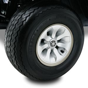 The DRIVE Wheel Covers Set-Silver Metallic