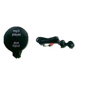 External MP3/AUX Mini DIN Jack