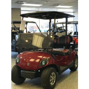 2012 Reconditioned Yamaha Gas Golf Car - Garnet Red