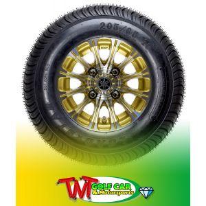 "10"" 12-Spoke J-Series Alloy Wheel for Yamaha Drive/Drive2 Golf Car"