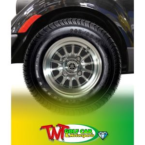 "10"" 14-Spoke P-Series PTV Alloy Wheel for Yamaha Drive2 Golf Car"
