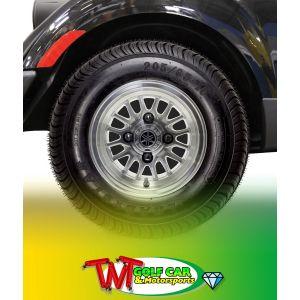 "10"" 16-Spoke V-Series PTV Alloy Wheel for Yamaha Drive / Drive2 Golf Car"