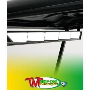 Golf Car 5-Panel Mirror Kit