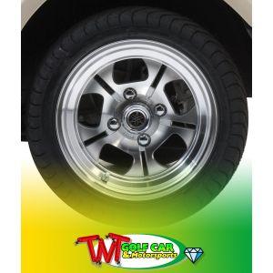 """12"""" 5-Spoke Alloy Wheel for Yamaha Drive2 Golf Car"""
