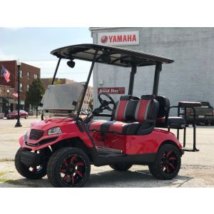 "Reconditioned 2008 Yamaha ""Havoc"" Custom Gas Golf Car"