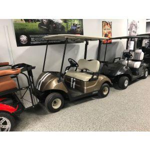 2020 Yamaha Drive2 Fuel-Injected Golf Car - Custom Stripe