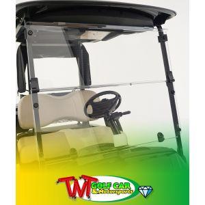 Fold-Down Windshield for Yamaha Drive2
