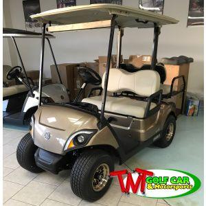 2021 Yamaha Drive2 EFI Golf Car with custom wheels and more