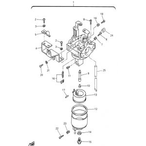 2005-2008 G27A: U-Max Light Duty Gas - Carburetor