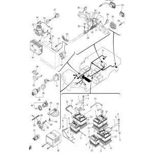 wiring diagram yamaha umax g23 great installation of wiring diagram • 2005 2008 g23e u max medium duty i 48v electric electric yamaha rh tntgolfcar com