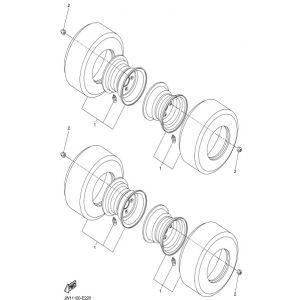 2007-2016 YDRA Drive Std Gas - Wheel