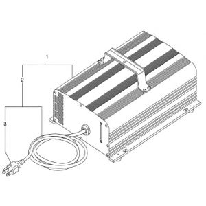 2007-2016 YDRE Drive DC 48V Electric - Battery Charger