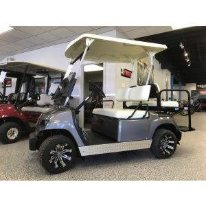 2004 Reconditioned Yamaha G22 Gas Golf Car - Custom Silver Paint