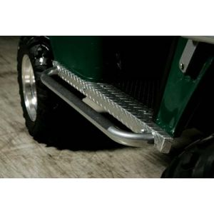 Nerf Bar Panel-Gunmetal-EZGO