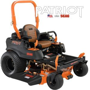 "Scag Patriot 52"" 22HP Kawasaki FX"